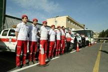 امدادرسانی هلال احمر البرز به ۹۱ نفر حادثه دیده در استان