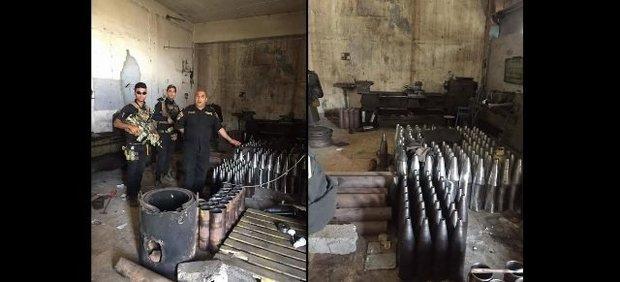 شناسایی کارخانه بزرگ ساخت سلاح داعش در موصل