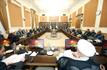 اولین جلسه مجمع تشخیص مصلحت نظام در دوره جدید برگزار شد/ تشکر آیت الله هاشمی شاهرودی از سخنان رئیس جمهوری در سازمان ملل