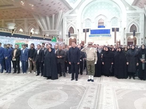 مدیران سازمان استاندارد با آرمانهای امام(ره) تجدید میثاق کردند