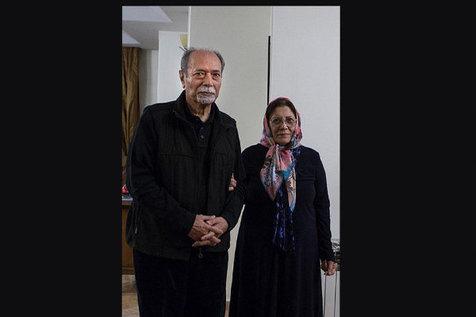 "همسر ""علی نصیریان"" درگذشت + عکس"