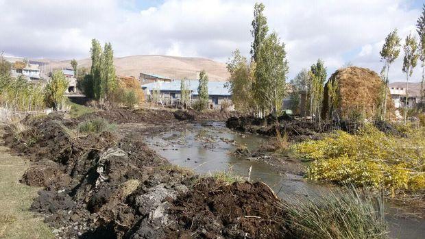 یکهزار و ۵۲۷ مورد تصرف غیرمجاز در حریم رودخانههای خراسان شمالی
