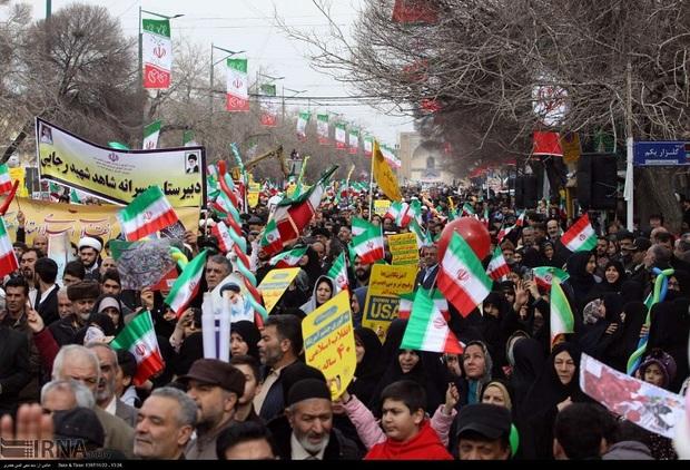 راهپیمایی چهلمین سالگرد پیروزی انقلاب خلق حماسه ای عظیم بود