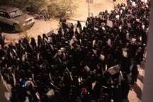 برپایی تظاهرات گسترده مردم بحرین در حمایت از شیخ عیسی قاسم
