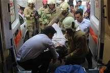 سقوط یک زن از پشت بام ساختمان در یافت آباد تهران