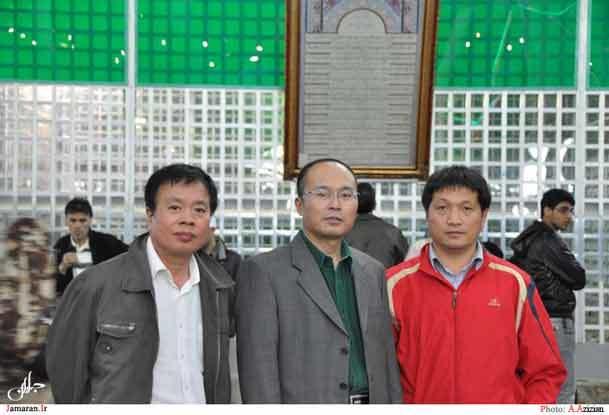 بازدیدجهانگردان چینی از حرم مطهر