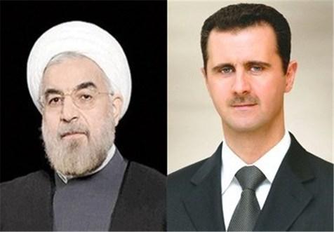 نامه اسد به روحانی