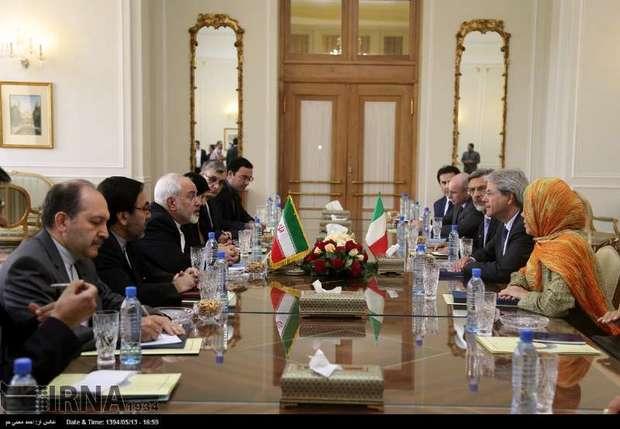 دیدار وزرای خارجه ایران وایتالیا+ تصاویر