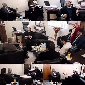 دیدار دبیرکل نُجَباء با نماینده رهبری در شورای عالی امنیت