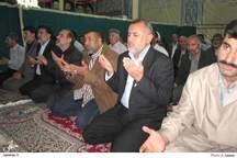 ادای احترام استاندار العماره عراق به مقام امام راحل