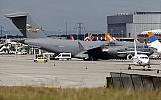 انتقال جان کری با هواپیمای نظامی+ تصاویر