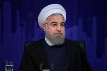 روحانی: اصلاح و نوسازی مسیر راه آهن جنوب امنیت تردد را بالا می برد