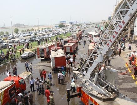 عامل اصلی آتشسوزی هتل هرمز دستگیر شد