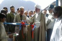 هشت پروژه خدماتی عمرانی در بخش مرکزی خاش به بهره برداری رسید