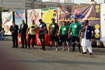 سیستان و بلوچستان قهرمان رقابت قوی ترین مردان شرق کشور شد