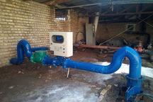کنتور حجمی روی مخزن آب آشامیدنی روستاها نصب می شود