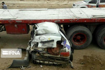 حادثه رانندگی جاده بوکان - میاندوآب جان ۴ نفر را گرفت