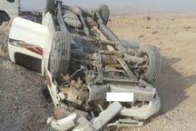 واژگونی خودرو ساندرو در قزوین به مرگ راننده منجر شد