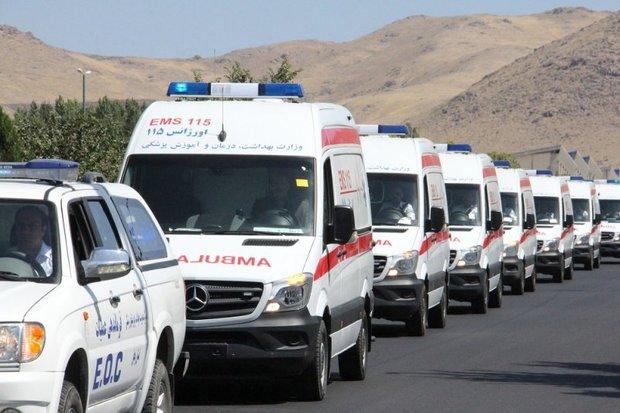 42 دستگاه آمبولانس درطرح نوروزی اورژانس قم فعال است