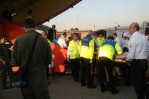 100 مصدوم حادثه زلزله غرب کشور به مراکز درمانی تهران و کرج منتقل شدند