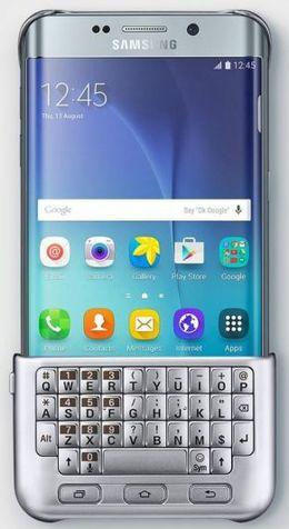 تصویر صفحه کلید سبک بلک بری برای Galaxy S6 Edge Plus سامسونگ
