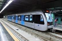 رکورد جدید در خطوط قطار شهری مشهد ثبت شد