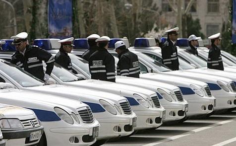 خودروهای دوربیندار پلیس در راه تهران