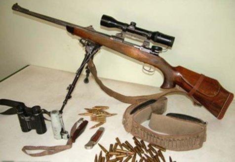 دستگیری شکارچی غیرمجاز در پارک ملی سرخه حصار