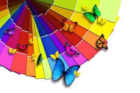 خانه خود را با رنگ طراحی کنید + عکس