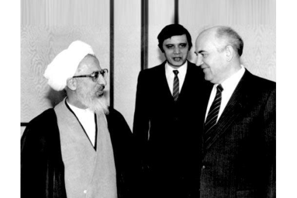 نامه تاریخی  امام خمینی به گورباچف