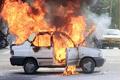 6 کشته بر اثر آتش سوزی پراید در محور زابل-نهبندان