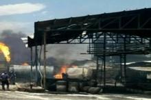 مراقبت ۲۴ ساعته برای جلوگیری از بروز آتش سوزی دوباره در  شهرک صنعتی خمین