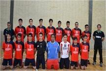 تلاش های تیم هندبال پیشگامان برای صعود به لیگ برتر