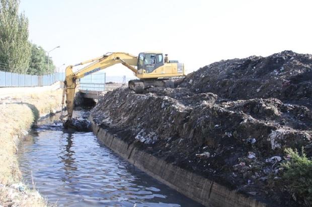 60 هزار متر مربع از کانال های شهرری لایروبی شد