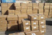 پلیس زرندیه افزون بر ۱۴ میلیارد ریال انواع کالای قاچاق را کشف کرد