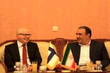 آمادگی فنلاند برای همکاری مشترک زیست محیطی با ایران