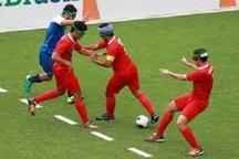 مسابقات فوتبال پنج نفره نابینایان کشور در شیراز آغاز  شد