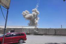 تصاویر/ انفجار مینی بوس بمب گذاری شده در قندهار