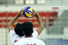 تیم والیبال صنایع اردکان بر لاستیک بارز کرمان غلبه کرد