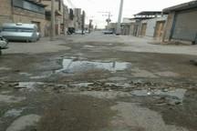 کوی طالقانی دزفول منطقه ای محروم از امکانات شهری