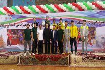 ووشوکار آذربایجانشرقی مقام سوم المپیاد استعدادهای برتر را کسب کرد
