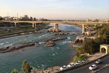 لایروبی بستر رودخانه دز آغاز شد
