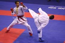 مسابقات کاراته قهرمانی آذربایجان غربی در ارومیه برگزار شد