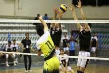 تیم والیبال مقاومت تهران، میلادن ور رامسر را شکست داد