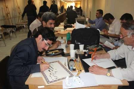 برگزاری کارگاه هنرهای تجسمی با موضوع استکبار ستیزی در مراغه