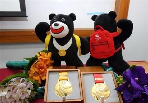 تصاویری از مدالهای بازیهای یونیورسیاد ۲۰۱۷