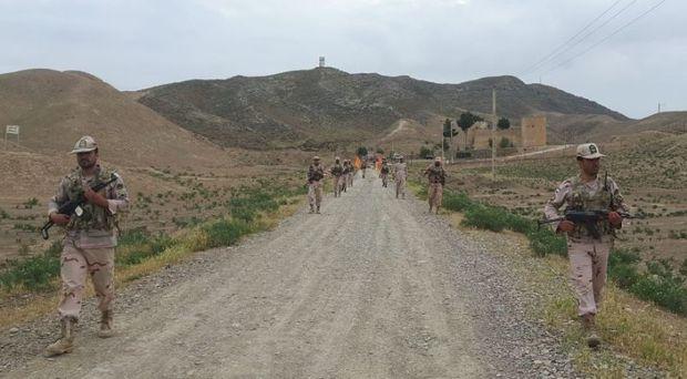پیاده روی استقامتی پرسنل مرزبانی اترک گنبد برگزار شد