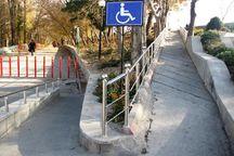۲ مسیر در آستارا برای تردد معلولان مناسبسازی شد