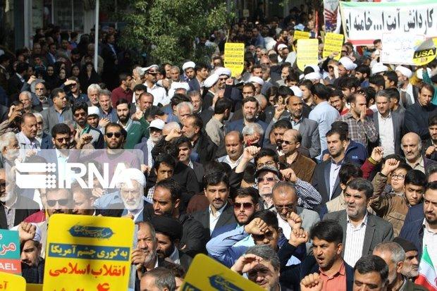ارمغان مقاومت ایران در برابر زورگویی آمریکا سربلندی است