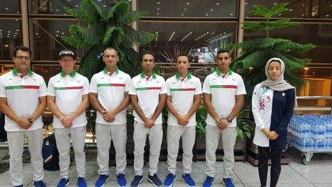 استقرار ورزشکاران ایرانی در پالمبانگ+ تصاویر